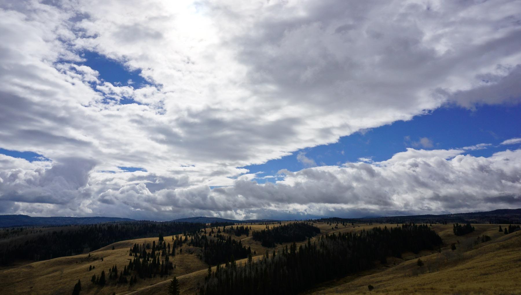 A Ridge Line Hike, A Lingering End